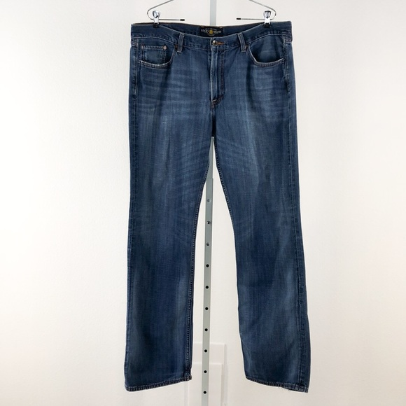 Lucky Brand Other - Lucky Brand Straight Leg Denim Jeans, Size 38 x 34